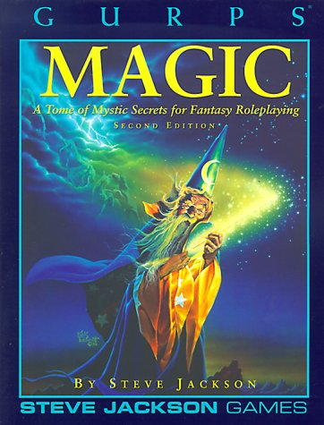 GURPS Magic: A Tome of Mystic Secrets for Fantasy Roleplaying