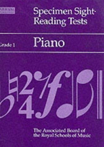 Specimen Sight-Reading Tests Grade 1: Piano