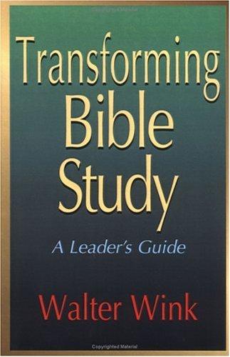 Transforming Bible Study por Walter Wink FB2 iBook EPUB 978-0687096268