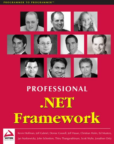 Descargar gratis pdf y ebook Professional .Net Framework