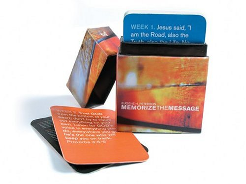 Memorize The Message Deck: 52 Scripture Memory Verse Cards