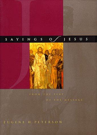 Sayings Of Jesus