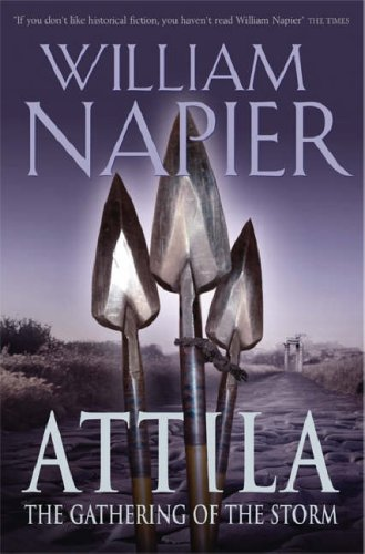 Attila: The Gathering Of The Storm (Attila Trilogy #2)