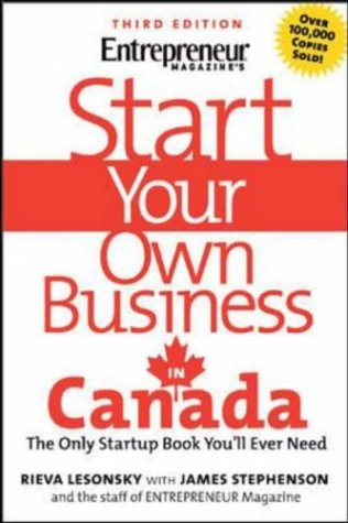 Start Your Own Business in Canada