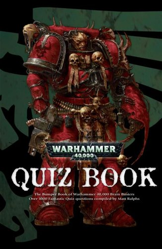 Descargar el libro isbn 1-58450-393-9 Warhammer 40,000 Quiz Book