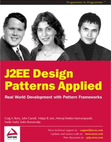 J2ee Design Patterns Applied Libros de descargas gratuitas de Amazon
