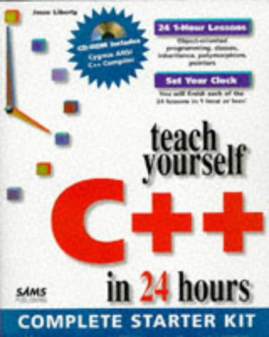 Teach Yourself C In 24 Hours Complete Starter Kit With Cdrom By