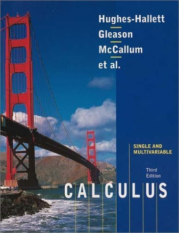 Calculus, Single and Multivariable