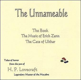 The Unnameable: Four Tales of Horror