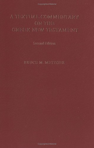 Textual Commentary on the Greek New Testament (ePUB)