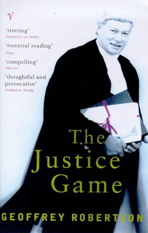The justice game by geoffrey robertson 1168512 fandeluxe Images