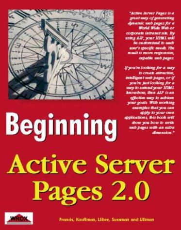 Beginning Active Server Pages 2.0 Scribd descarga de libros gratis