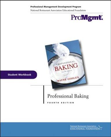 Professional Baking, Student Workbook