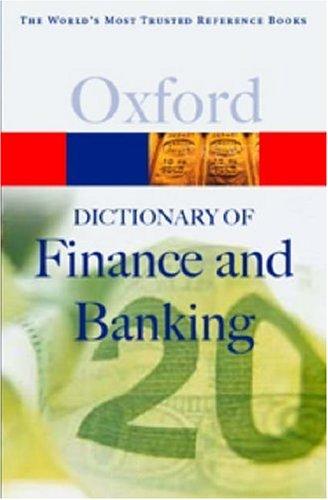 A Dictionary of Finance and Banking Descarga gratuita de libros móviles