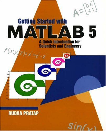Getting Started With Matlab 7 Rudra Pratap Pdf