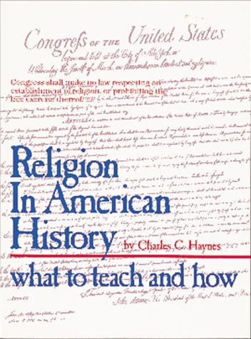 Religion in American History: What to Teach and How