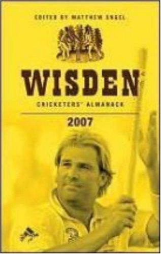 Wisden Cricketers' Almanack 2007 (Wisden Cricketers' Almanack, #144)