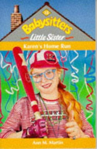 Karen's Home Run (Baby-Sitters Little Sister, #18)