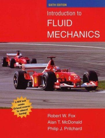 Introduction to Fluid Mechanics [With CDROM]