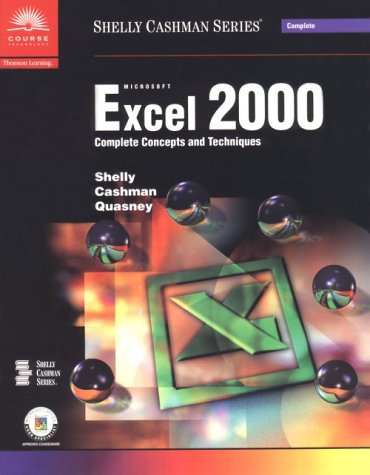 Microsoft Excel 2000: Complete Concepts and Techniques