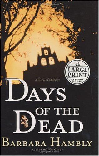 Days Of The Dead Benjamin January 7 By Barbara Hambly