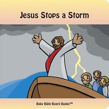 Jesus Stops a Storm by Edward Bolme