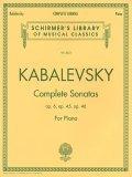 Dmitri Kabalevsky: Complete Sonatas