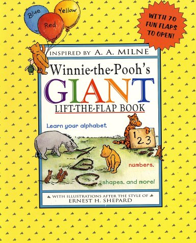 Winnie-the-Pooh's Giant Lift-the-Flap Book