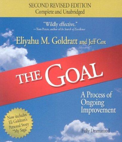 The goal eliyahu goldratt audiobook download
