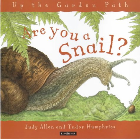 Are you a snail, book cover