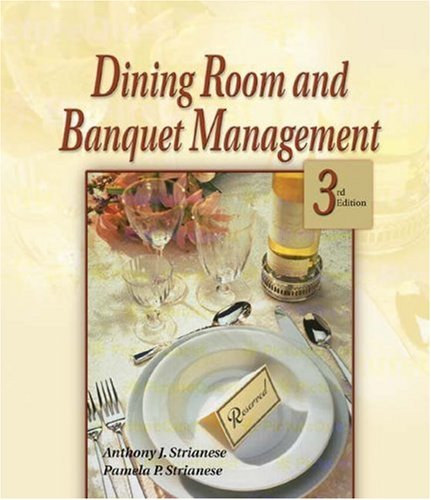 dining room and banquet management by anthony j strianese rh goodreads com dining room and banquet management Dining Room Furniture