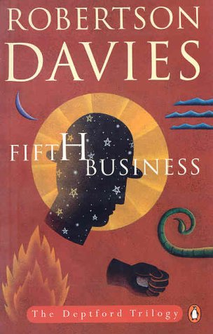the fifth business Fifth business is a novel that dives deep into the issues of the human condition guilt and inhumanity are apparent at most points in the novel, as the characters of the novel are effected by separate incidents in very different ways the battle between illusion and reality surfaces in the main.