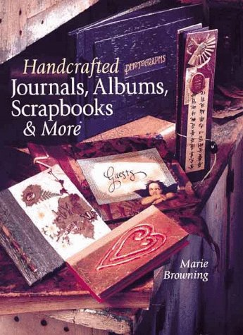 Handcrafted Journals, Albums, Scrapbooks  More