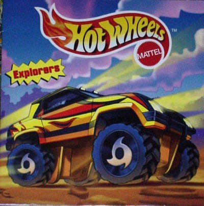 Hot Wheels: Explorers