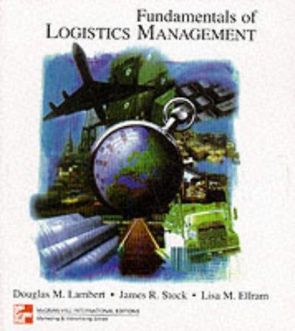Fundamentals Of Logistics Management MOBI PDF 978-0071157520