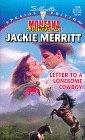 Letter To A Lonesome Cowboy DJVU EPUB por Jackie Merritt 978-0373241545