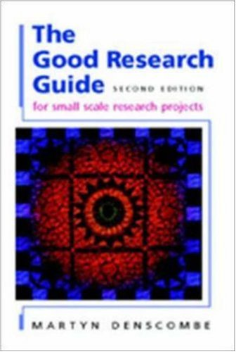 the good research guide by martyn denscombe rh goodreads com martyn denscombe the good research guide pdf denscombe the good research guide 2007