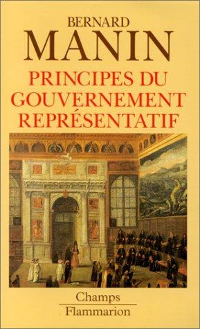 Principes du gouvernement representatif