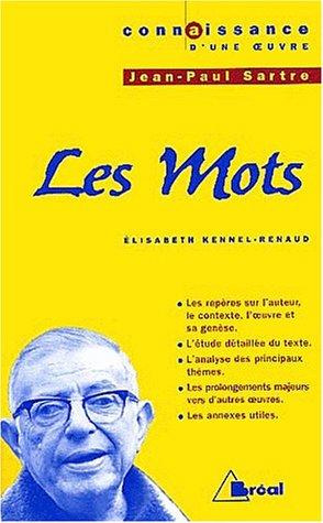 Jean-Paul Sartre, Les mots