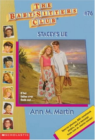 Stacey's Lie (The Baby-Sitters Club, #76)