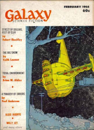 Galaxy Science Fiction, February 1968 (Volume 26, No. 3)