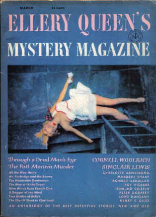 Ellery Queen's Mystery Magazine March 1951