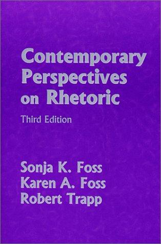 Contemporary Perspectives on Rhetoric