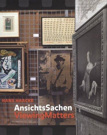 Hans Haacke: Viewing Matters