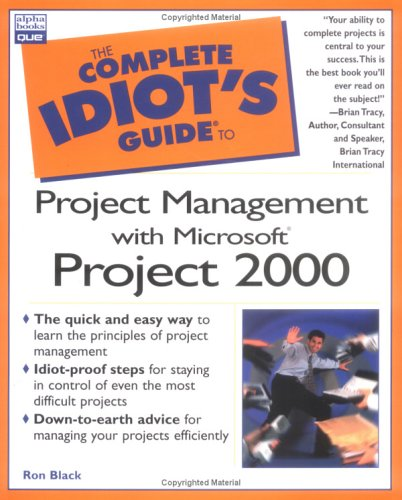 the complete idiot s guide to project management with microsoft by rh goodreads com the complete idiot's guide to project management 6th edition Complete Idiots Guide to Facebook