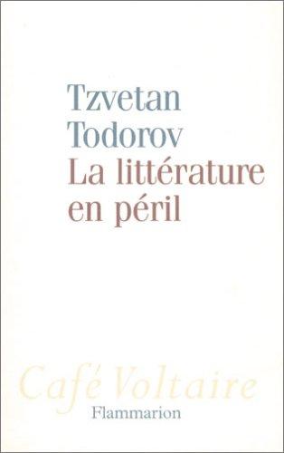 La littérature en péril