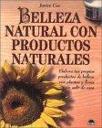 Belleza narural con productos naturales