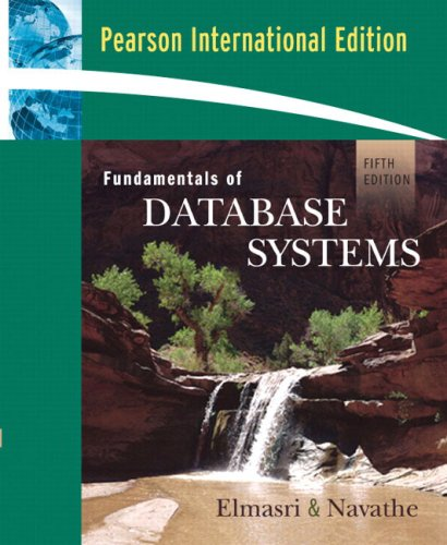 Fundamental Of Database Systems 5th Edition Elmasri Pdf