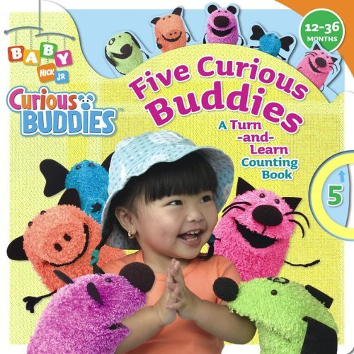Five Curious Buddies: A Turn-And-Learn Counting Book