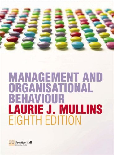Management And Organisational Behaviour Ebook